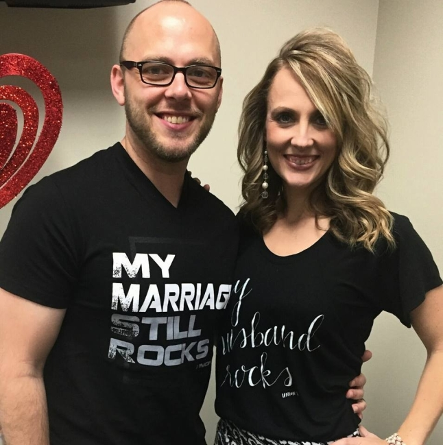 Photo courtesy of Jaclyn & Matt, owners of U28 Marriage Apparel
