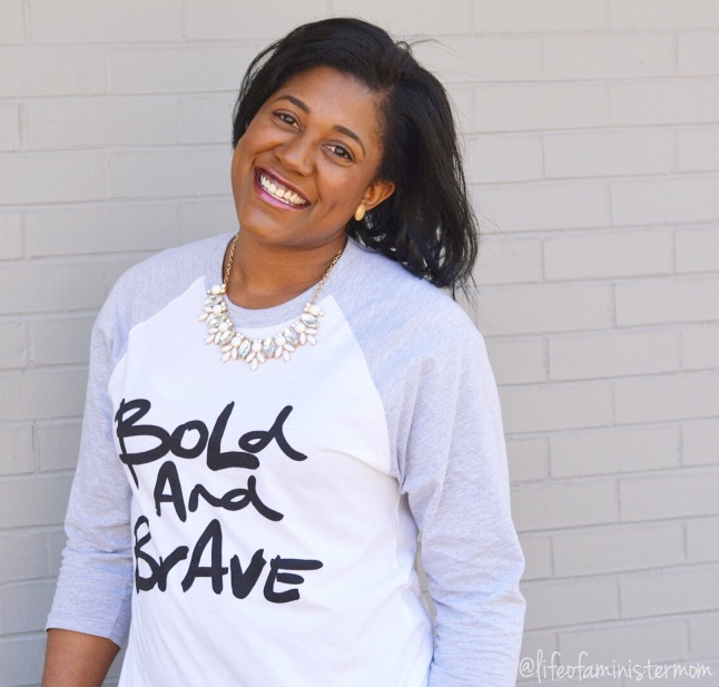 'Bold and Brave' Design inspired by Psalm 31:24